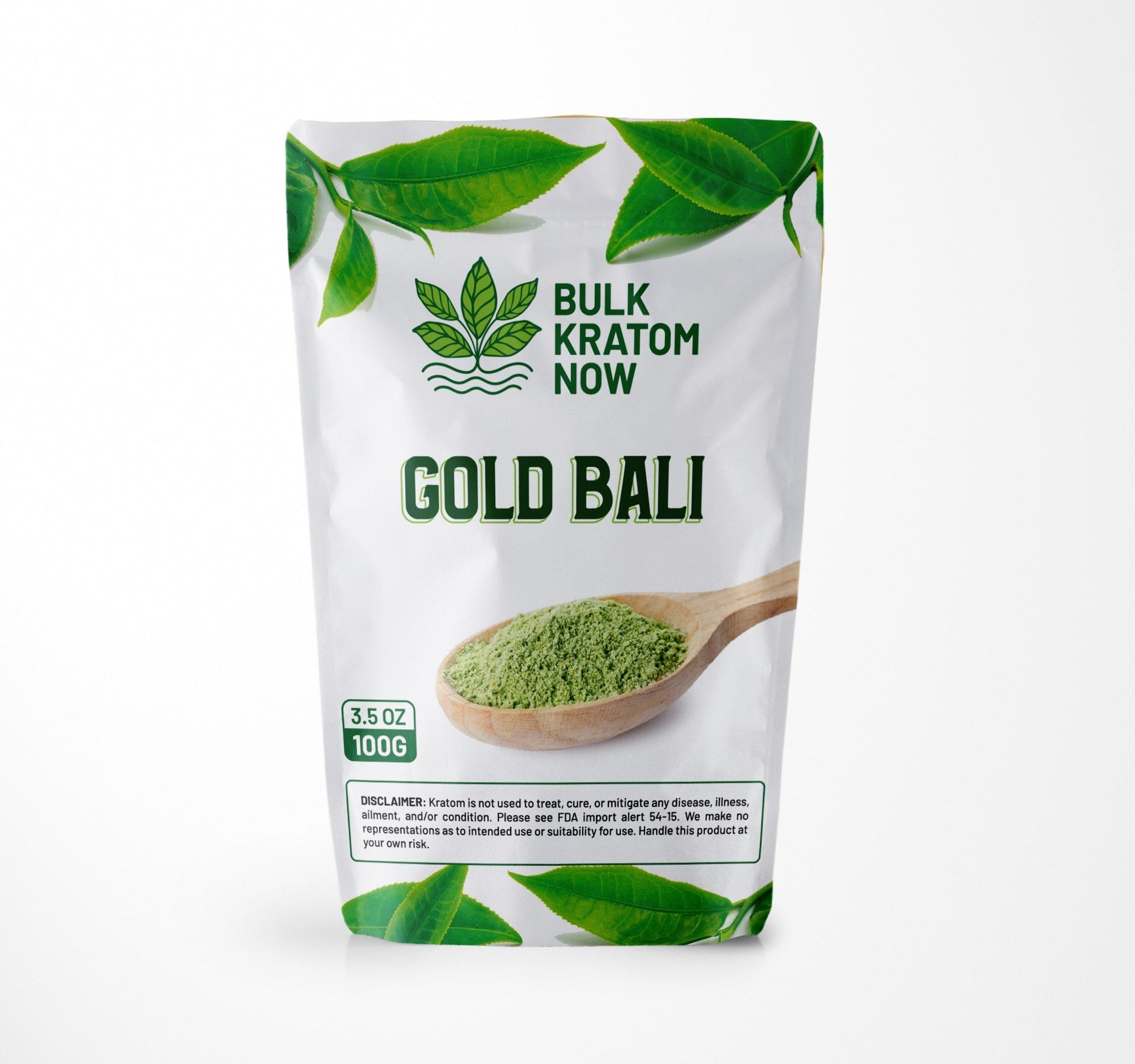 Gold Bali Bulk Kratom
