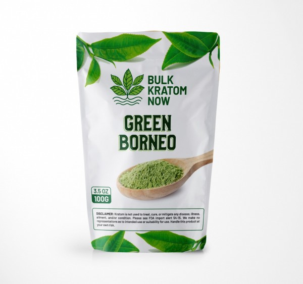 Bulk Green Borneo Kratom Powder for Sale