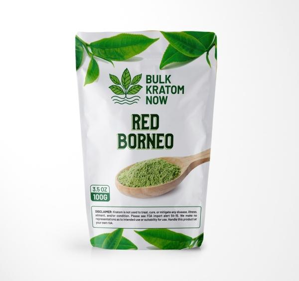 Bulk Red Borneo Kratom Powder for Sale