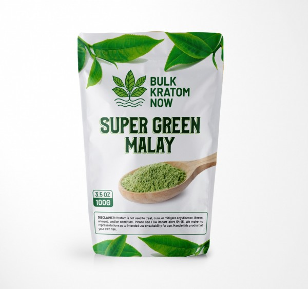 Bulk Super Green Malay Kratom Powder for Sale