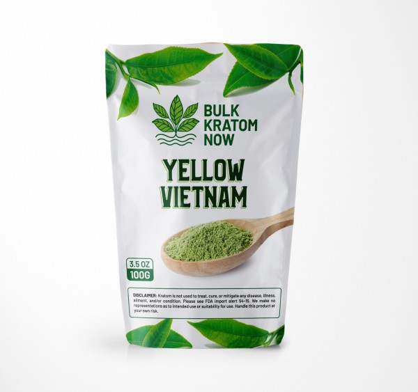 Bulk Yellow Vietnam Kratom Powder for Sale