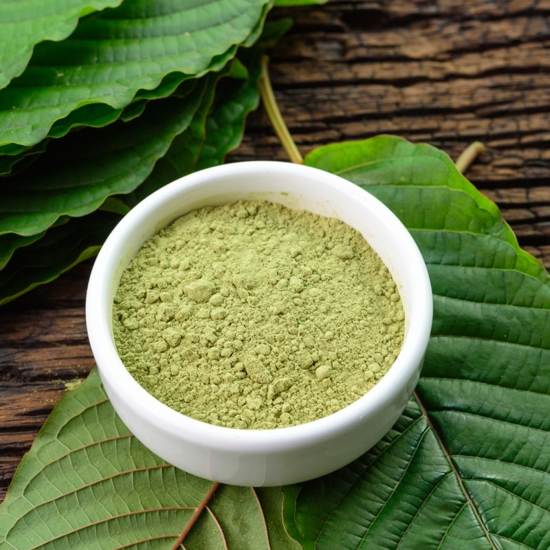 red veined kratom powder